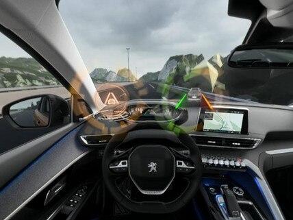 Peugeot SUV 3008 - VR : découvrez l'Active Lane Departure Warning en réalité virtuelle