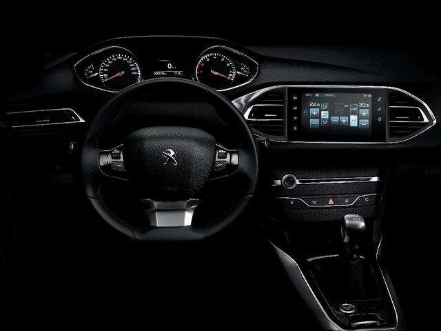 Peugeot 308 R Concept - Vue du Peugeot i-Cockpit