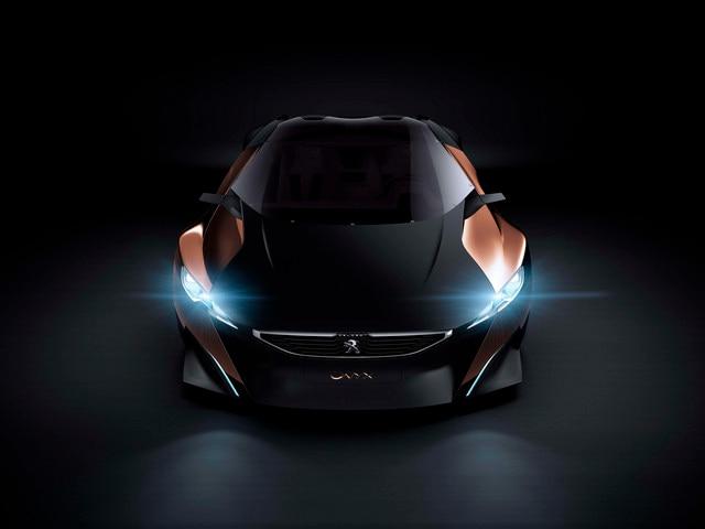 Design Peugeot Onyx - Les feux full LED de l'Onyx