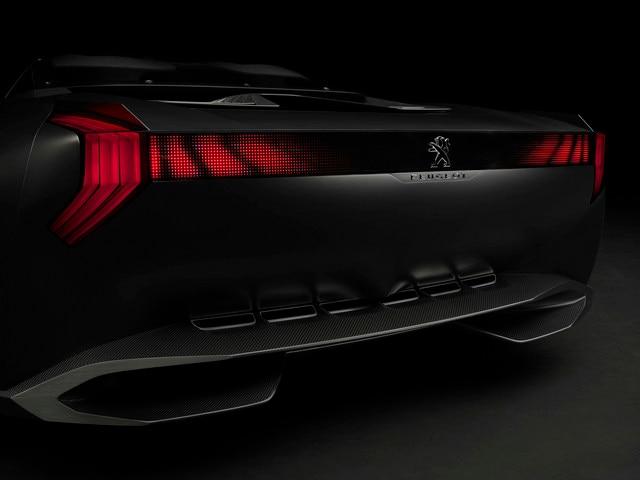 Design Peugeot Onyx - Zoom sur la carrosserie affûtée de l'Onyx