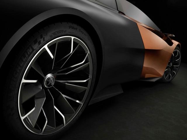 Design Peugeot Onyx - Les roues du Concept car