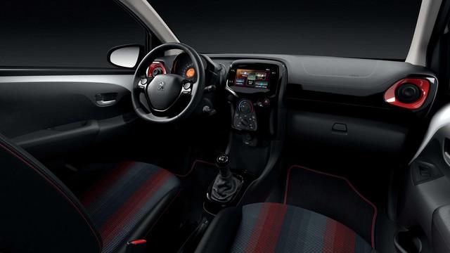 PEUGEOT 108 – intérieur GT Line
