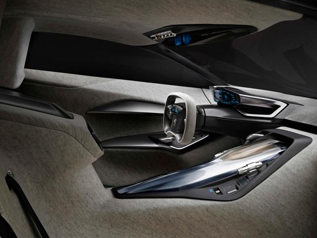 Design Peugeot Onyx - Vue intérieure de l'Onyx
