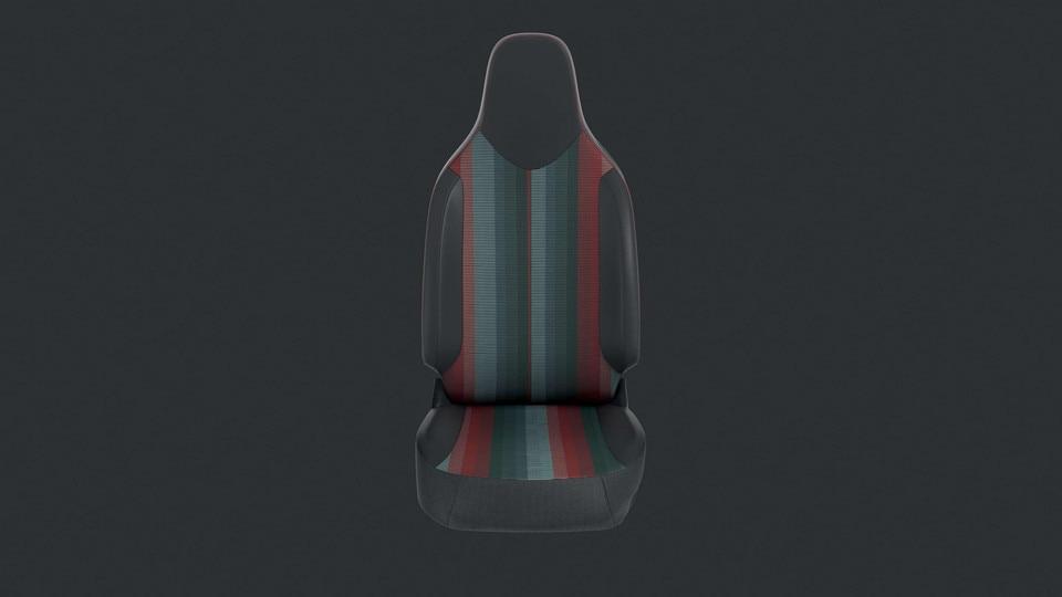 PEUGEOT 108 – Garnissage GT Line noir et rouge