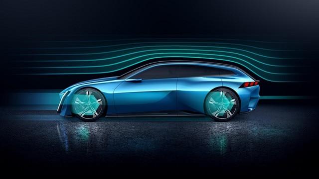Peugeot Instinct Concept - Le shooting brake by Peugeot - Aérodynamique 3