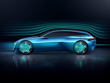 Peugeot Instinct Concept - Le shooting brake by Peugeot - Aérodynamique 3