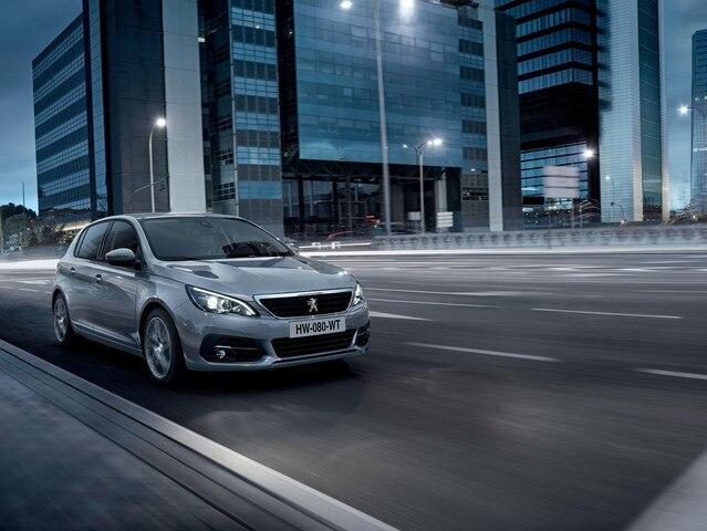 Peugeot 308 Affaire : vue avant