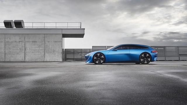 Peugeot Instinct Concept - Le shooting brake by Peugeot