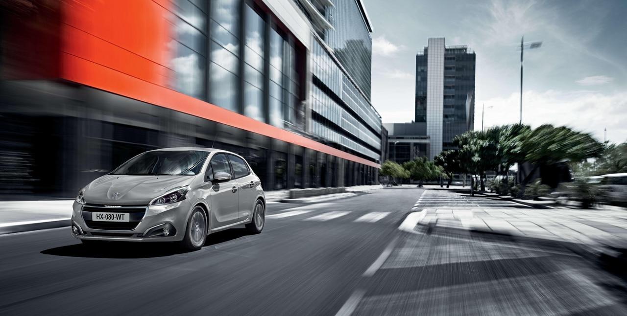 Peugeot 208 Affaire : trajets en ville