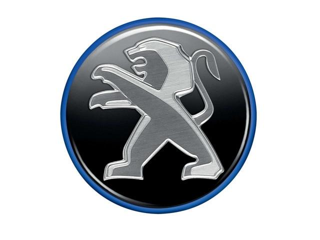 PEUGEOT 108 - Cabochon cercle bleu