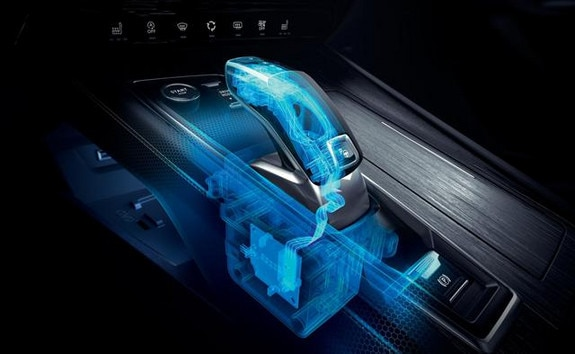 Nouvelle berline PEUGEOT 508, boîte de vitesses automatique EAT8 et sa commande électrique de changement de vitesse Shift and Park by wire