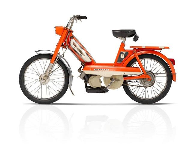 Les deux-roues – 1974 record des ventes des cyclomoteurs