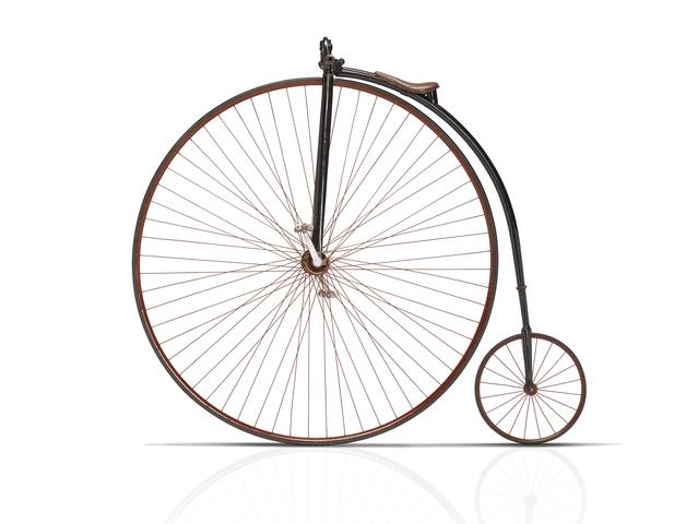 Les deux-roues – tricycle Peugeot lancé en 1886