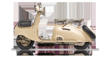 Les deux roues - 1955 début de la production des Scooters S55 et S57