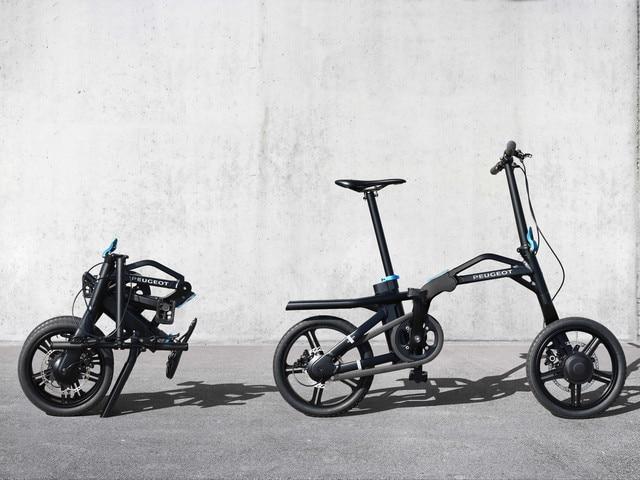 Les deux-roues – le vélo pliant à assistance éléctrique eF01