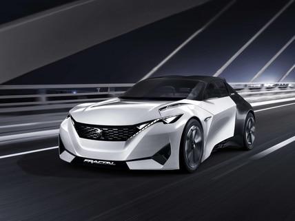 Peugeot Fractal - Découvrez le Concept car Fractal