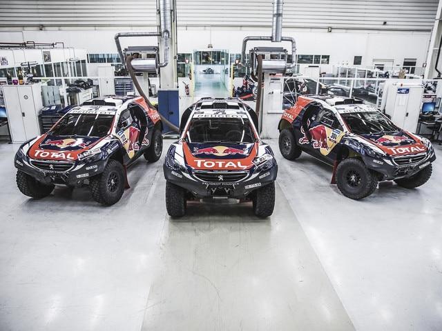 Peugeot Sport - 2015 - Retour en Rallye Raid Peugeot 2008DKR15