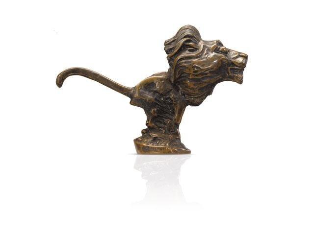 Les Lions Peugeot – 1923 le Lion sculpté par Baudichon