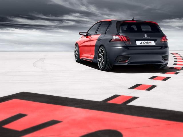 Peugeot 308 R Concept - Le système de freinage doté d'un différentiel à glissement limité Torsen