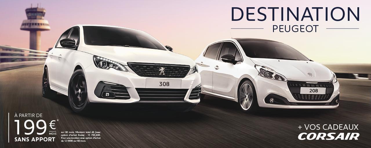 Destination Peugeot