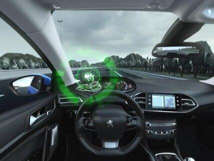 Peugeot 308 - VR : découvrez l'Adaptive cruise control with 30-km en réalité virtuelle