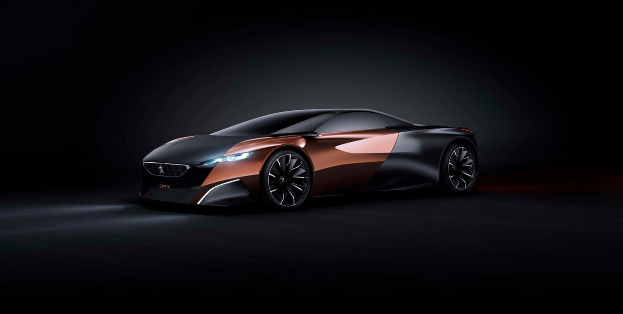 Peugeot Onyx - Découvrez le Concept car Onyx