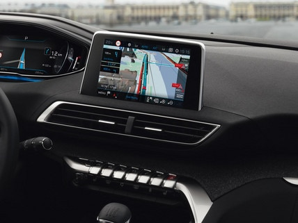 Navigation 3D connectée PEUGEOT