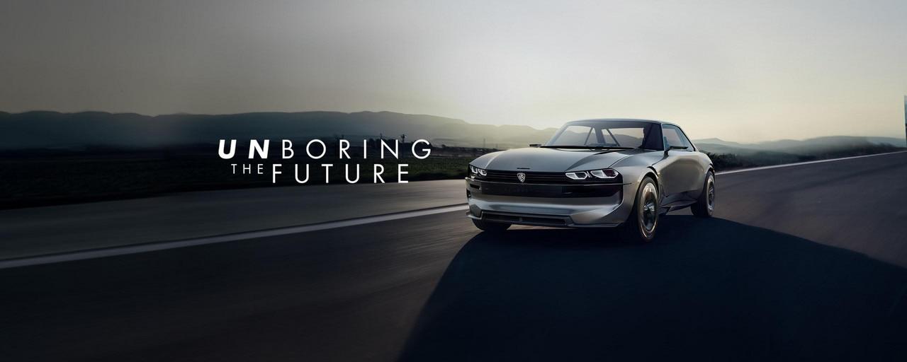 PEUGEOT e-LEGEND CONCEPT: la voiture autonome 100% électrique et connectée par PEUGEOT #UnboringTheFuture