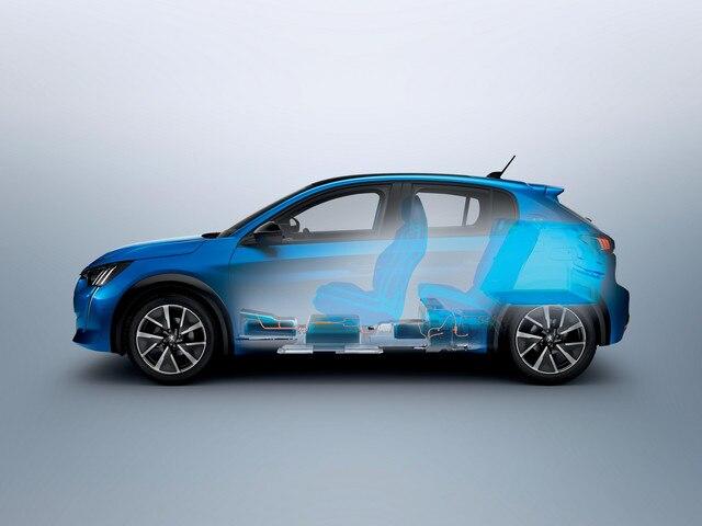 Nouvelle Peugeot e-208