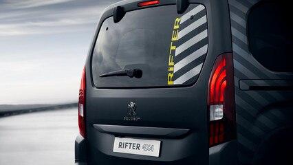 PEUGEOT RIFTER 4x4 Concept – Feu arrière et hayon