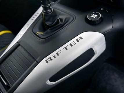 PEUGEOT RIFTER 4x4 Concept – console décor aluminium
