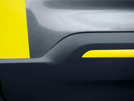 PEUGEOT RIFTER 4x4 Concept – protection latérale avec partie jaune anodisé satin