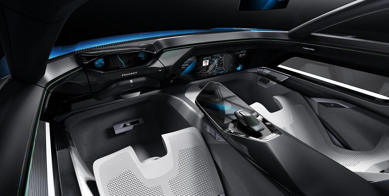 Peugeot Instinct Concept - Peugeot Responsive i-Cockpit - Mode Autonome Sharp