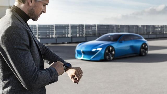 Peugeot Instinct Concept - Le meilleur de l'IoT