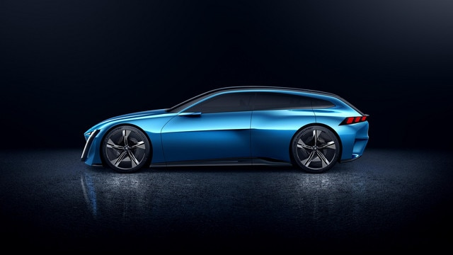 Peugeot Instinct Concept - Le shooting brake by Peugeot - Aérodynamique 2