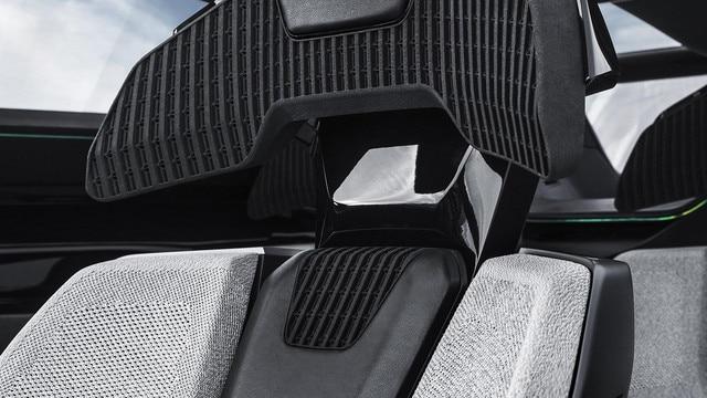Peugeot Instinct Concept - Peugeot Responsive i-Cockpit - Détail siège