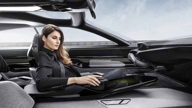 Peugeot Instinct Concept - Peugeot Responsive i-Cockpit - Conduite mode Autonomous 1