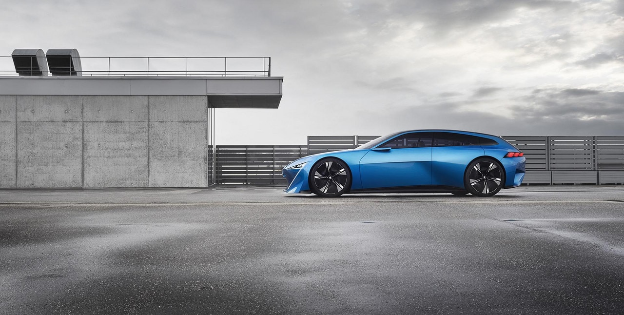 Peugeot Instinct Concept - Le shooting brake by Peugeot