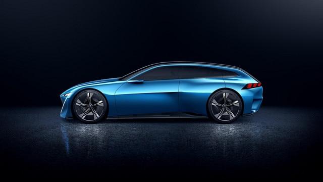 Peugeot Instinct Concept - Le shooting brake by Peugeot - Aérodynamique 1