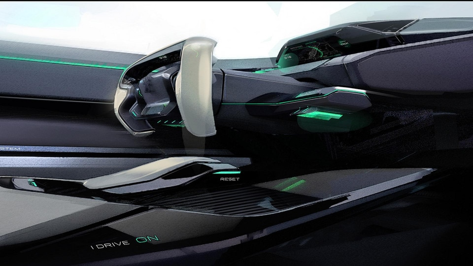 Peugeot Instinct Concept - Le meilleur de l'I.o.T. - Sketch