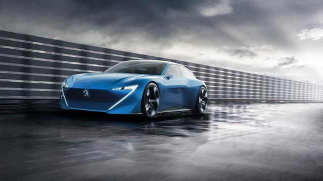 Peugeot Instinct Concept - Le shooting brake by Peugeot - Vue avant