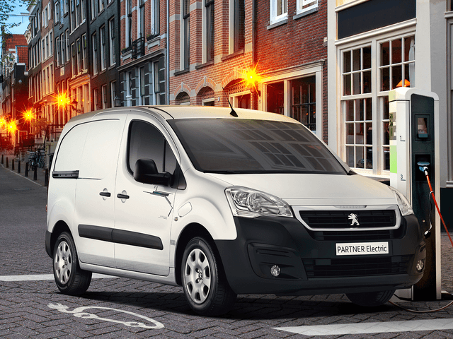 Peugeot Partner Electric, utilitaire 100% électrique