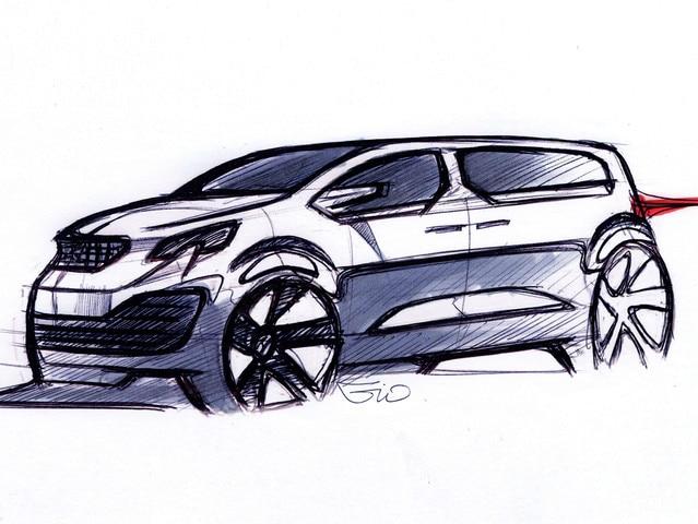 Design Traveller i-Lab - Premières ébauches du Concept car