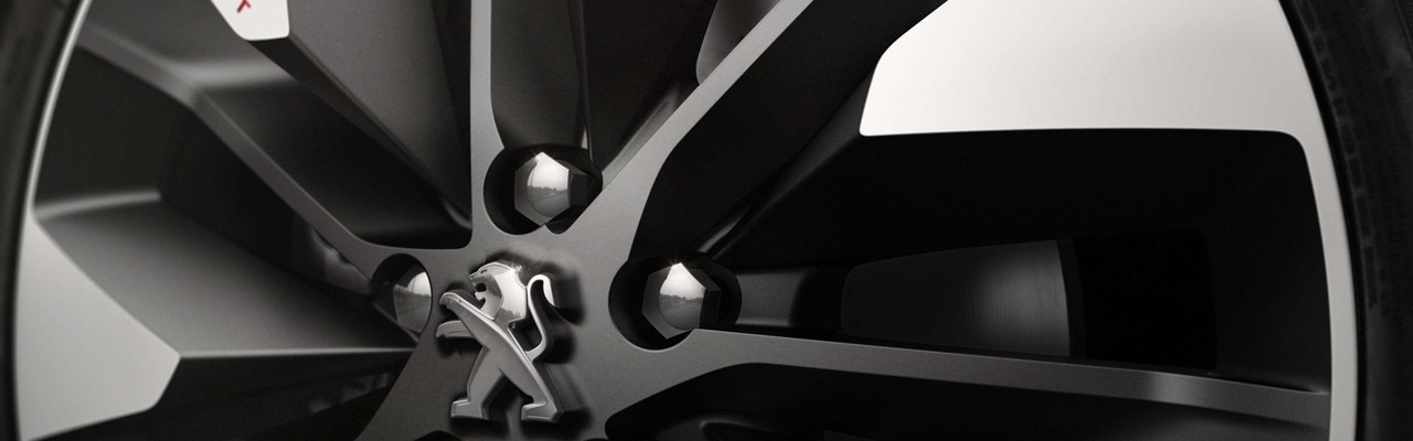 Recette réussie Foodtruck - Détail d'une roue du Concept car