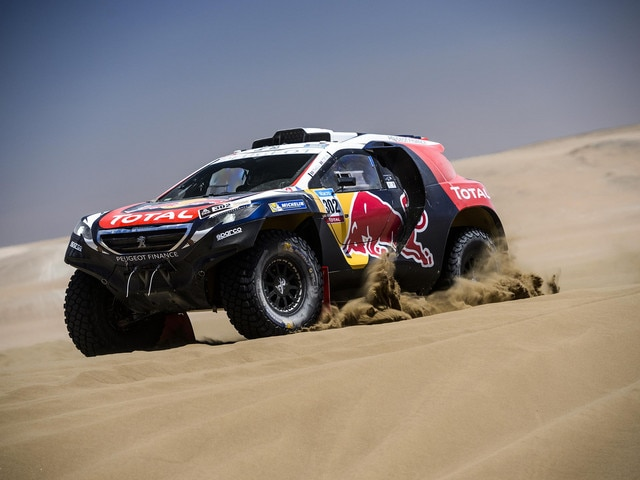 Peugeot Sport - Silk Way Rally 2015 Peugeot 2008DKR15