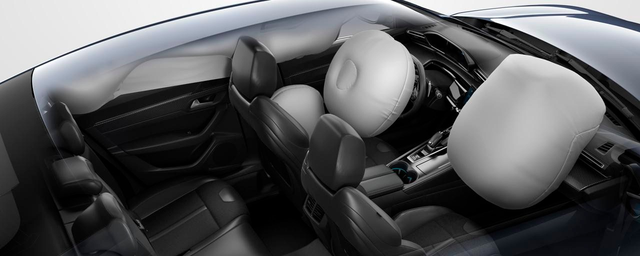 Nouvelle berline PEUGEOT 508, airbags