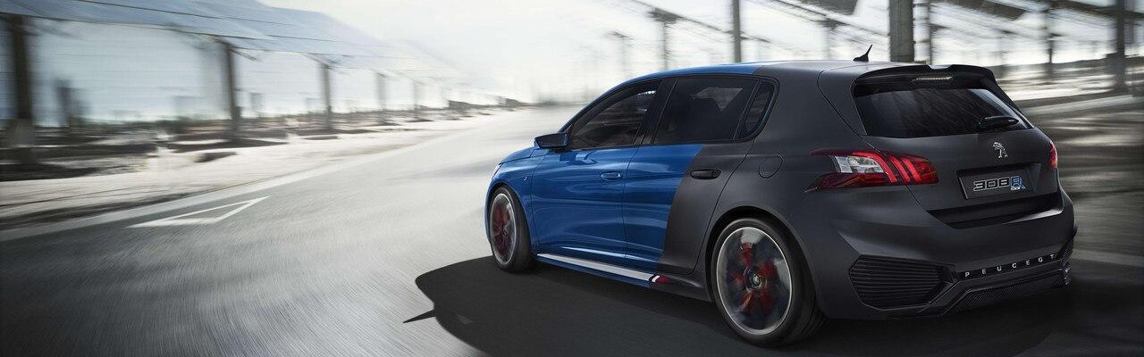 Peugeot 308 R Hybrid - Des perfomances radicales pour un tempérament rageur