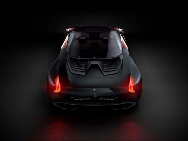 Design Peugeot Onyx - Les aillettes du Concept car Onyx