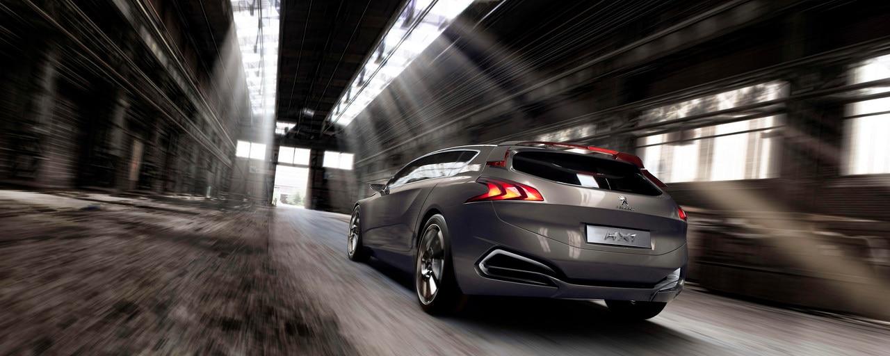 Peugeot HX1 - Moteur thermique et électrique de la technologie HYbrid4