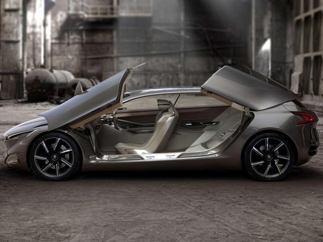 Peugeot HX1 - Design intérieur tourné vers l'utile, le raffinement et le confort